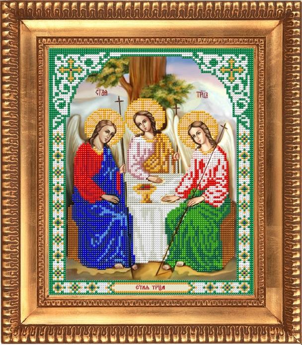 Заготовка для вишивки ікони Свята трійця ціна c2d299f2320be