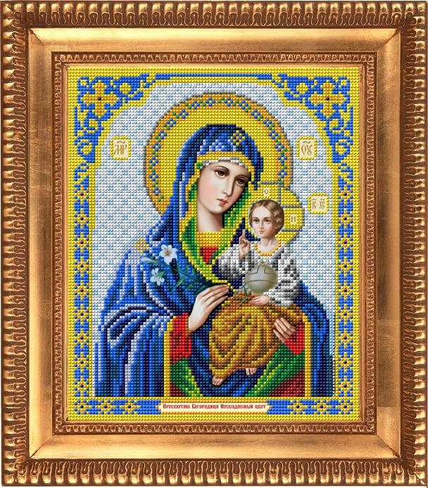Заготовка для вишивки ікони Пр Богородиці Нев янучий цвіт - Товари ... 8d8c8af4af87e