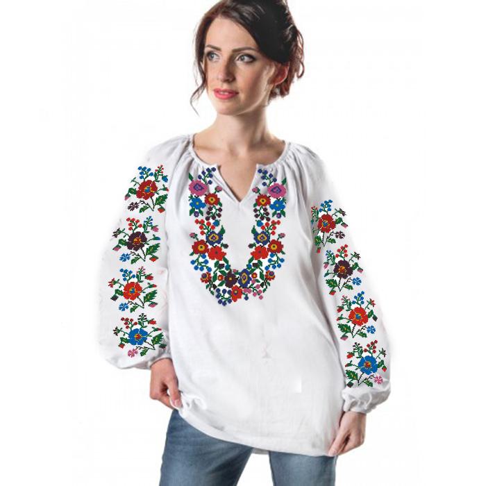 Заготовка для вишивки жіночої сорочки СЖ - 45 - Товари - Схеми для ... ece5c72540b91