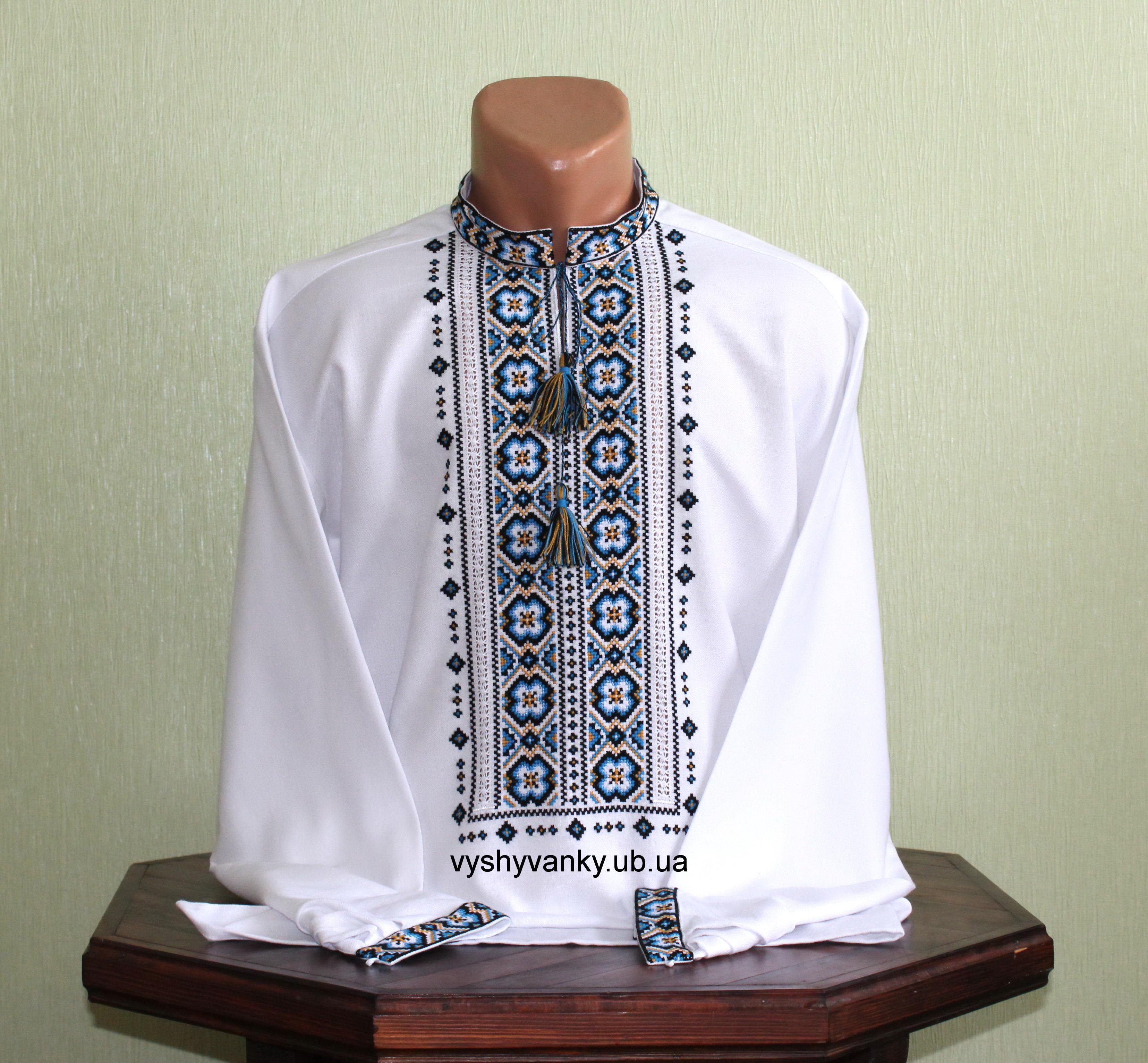 Чоловіча вишиванка ручної роботи ціна 1d22743948137