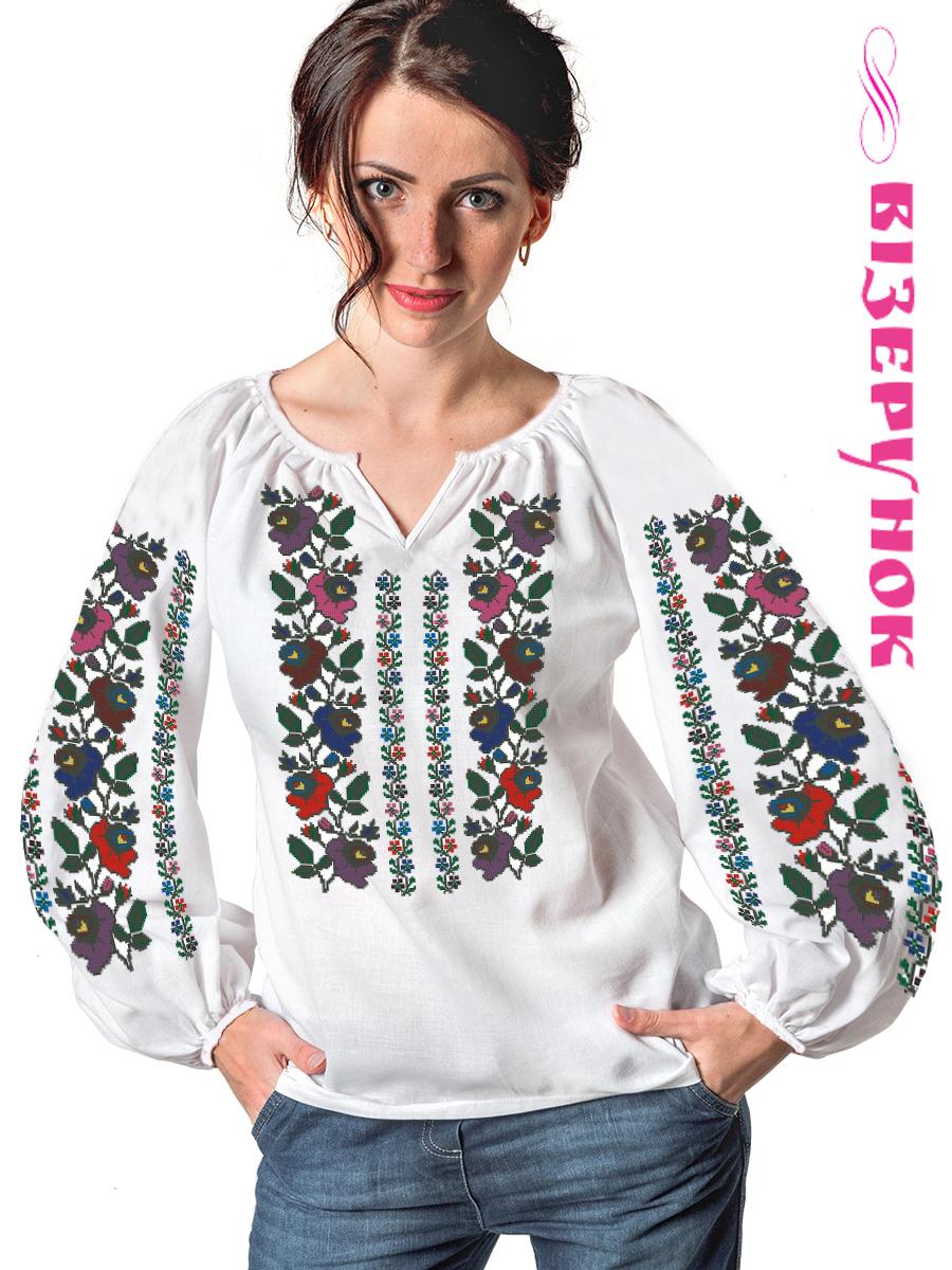 Заготовка для вишивки жіночої сорочки СЖ - 77 - Товари - Схеми для ... c0f7d52776af0