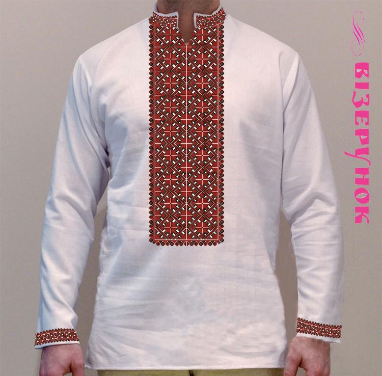 Схеми вишивки чоловічих сорочок ВЧ -1 - Товари - Схеми для вишивки ... 810321ac03734