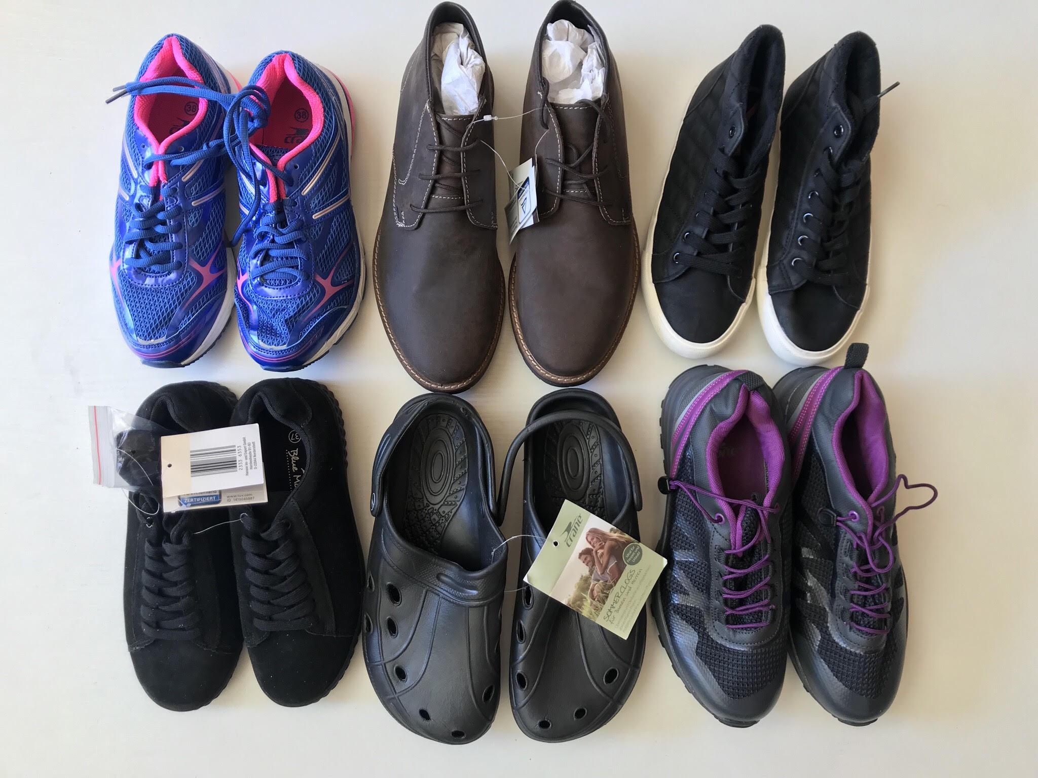 Взуття секонд-хенд CRANE весна-літо купити оптом - Товари - Одяг ... 6666d2b06905c
