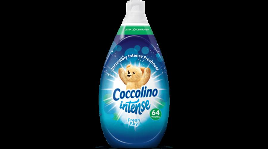 Кондиціонер-ополіскувач Coccolino Intense Fresh Sky для білизни (64 прання)  960 ml. a658fc1860955