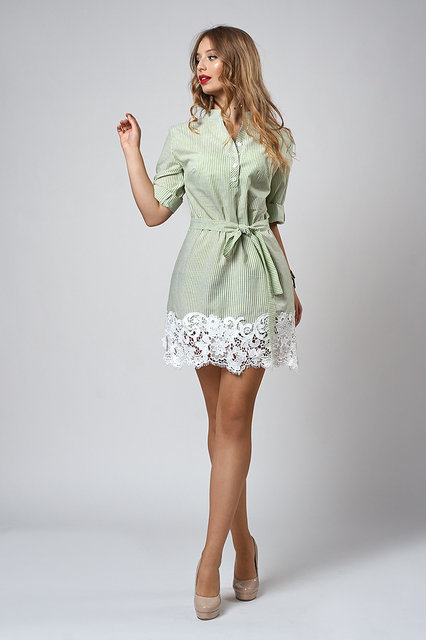 ef5e6ac636ba52 Жіноче літнє плаття з мереживом 557 - Товари - Купити стильні сукні ...