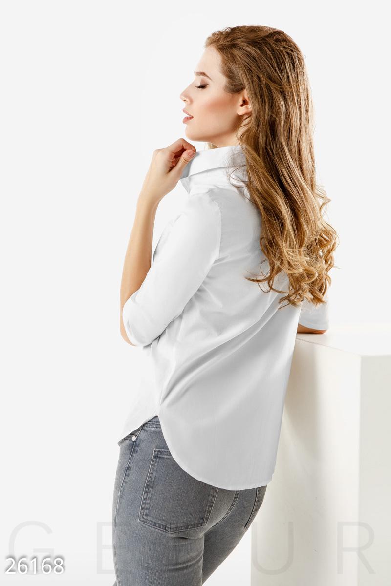 Однотонная офисная рубашка (белый) - Товари - Замовити речі через ... dd6077c57e55b