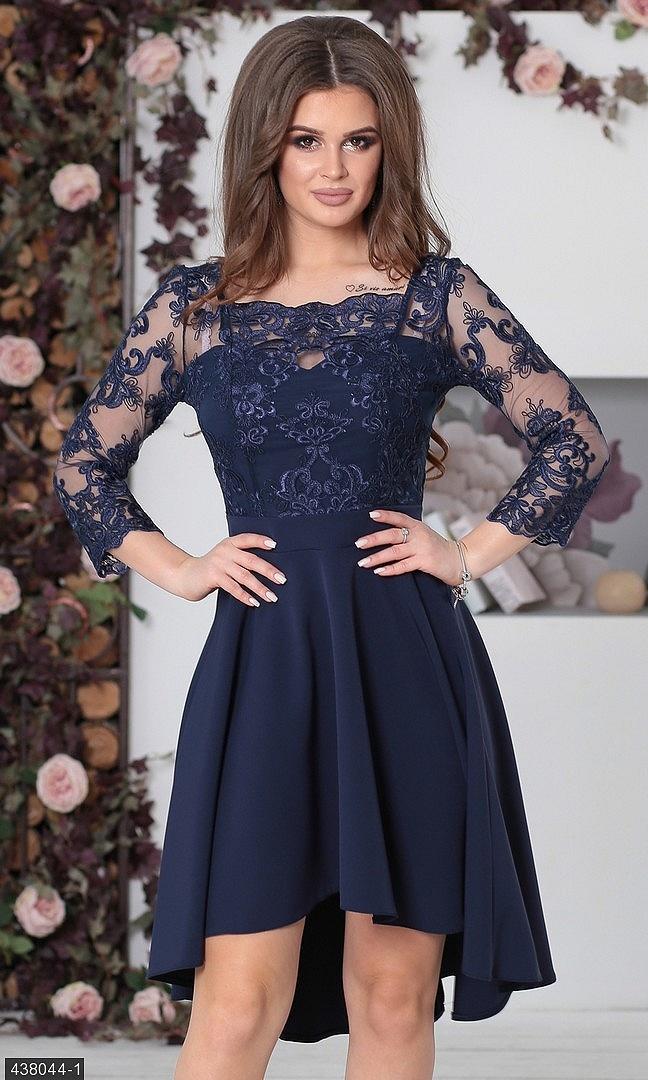 086df68866802f Платье 438044-1 темно-синий Весна 2018 Украина - Товары - Заказать ...