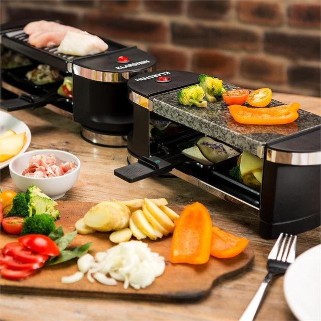 Гриль електричний Klarstein Tenderloin 100 Raclette Grill купити в Луцьку edd0dc2ea9ab9