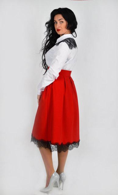 Стильна і зручна спідниця з мереживом - Товари - Жіночий одяг ... 6b5c67fca5f01