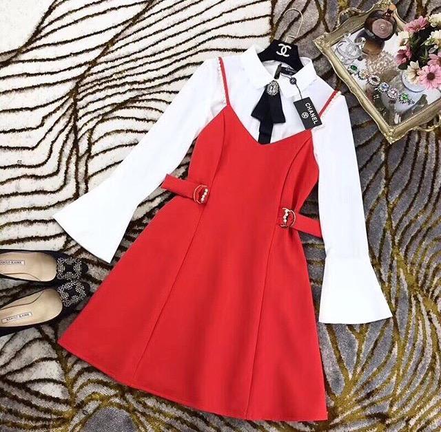 Сарафан із сорочкою купити в Луцьку - Товари - Турецькі сукні ... 9a2e33e376518