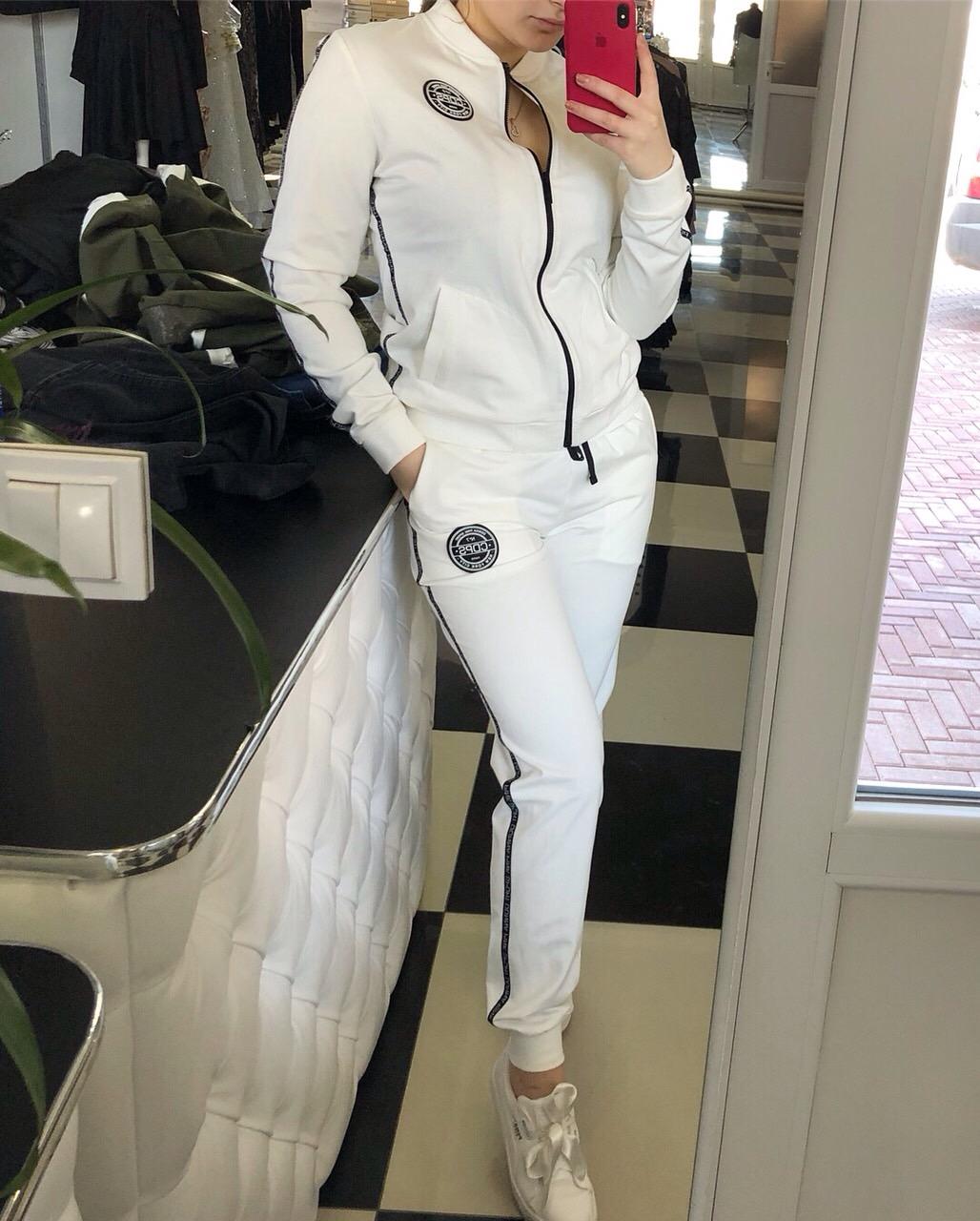 Білий спортивний костюм купити в Києві - Товари - Турецькі сукні ... 3e3c43ee72612