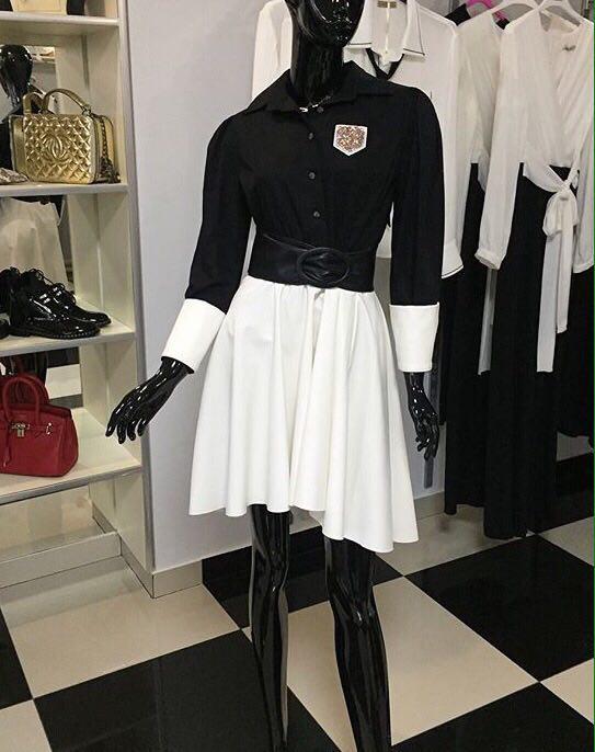 Плаття з білою шкіряною спідницею купити в Тернополі - Товари ... 56c1e129c288a