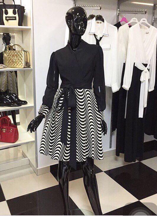 Плаття зі смугастою спідницею купити в Ужгороді - Товари - Турецькі ... 07f899ec7d34f