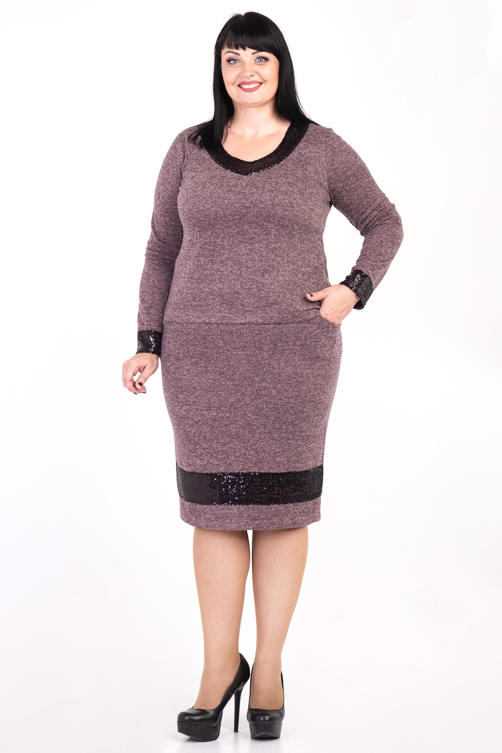 Жіночий теплий костюм великого розміру 7ecd30a775c96