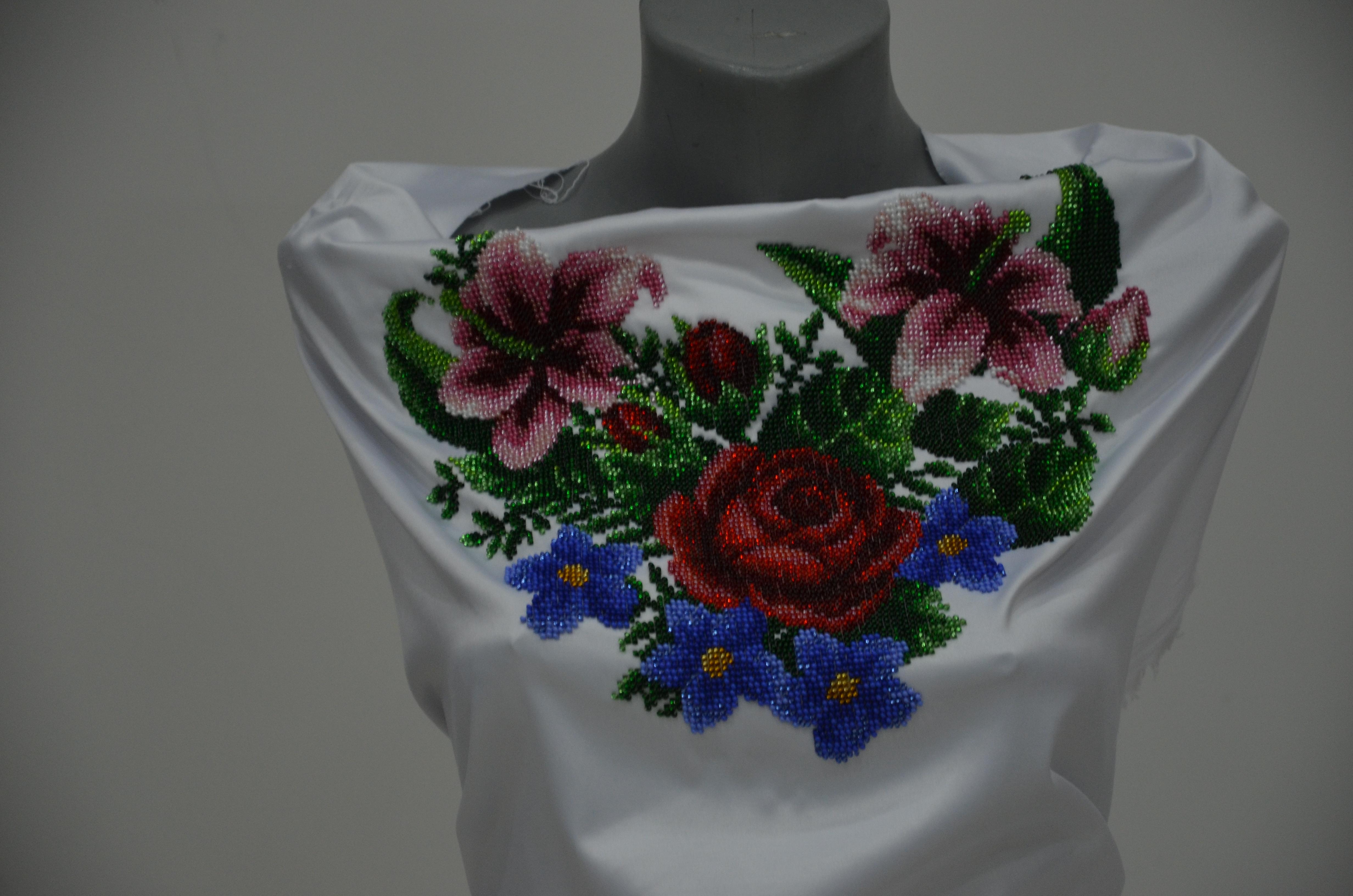 Вишита сорочка бісером 36 - Товари - Схеми для вишивки бісером ... 1c7a04bb01212