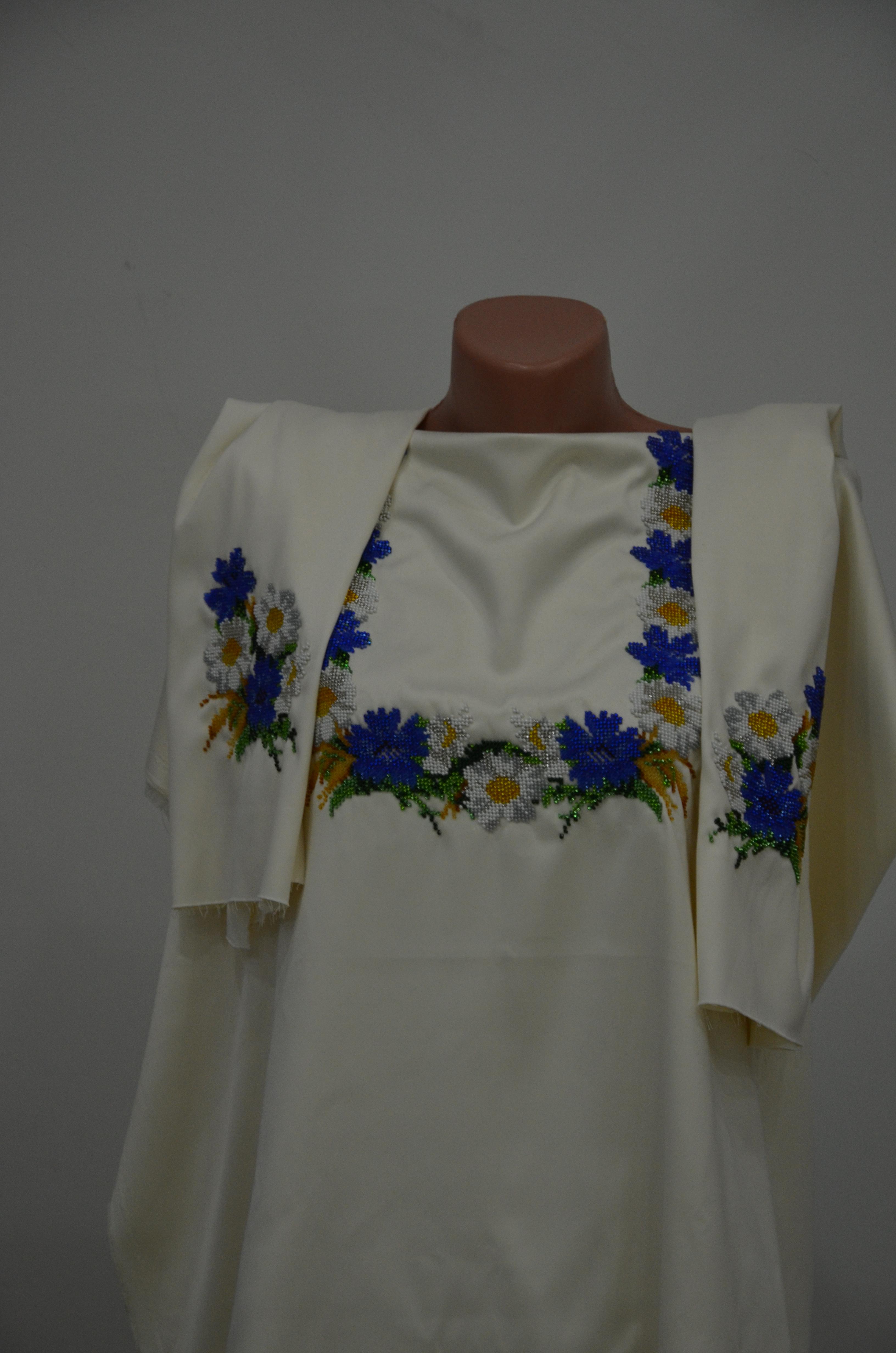 Вишита сорочка бісером Польова - Товари - Схеми для вишивки бісером ... 3b624de921481