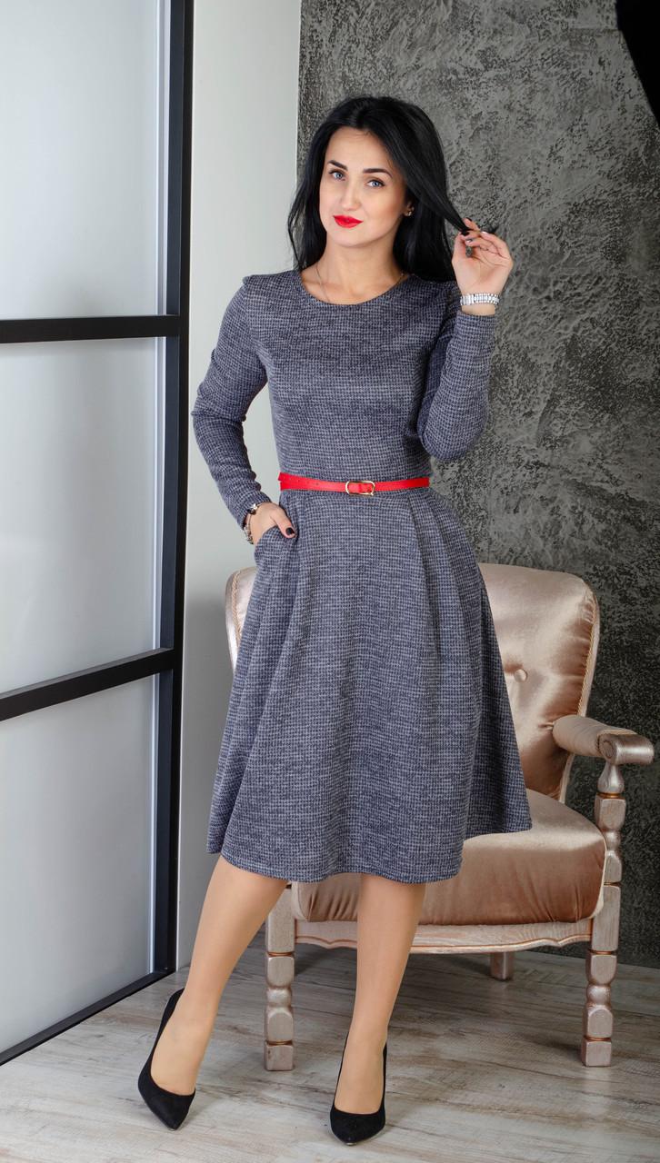 Жіноче тепле плаття з карманами 253 - Товари - Купити стильні сукні ... 65fd8d2c784fa