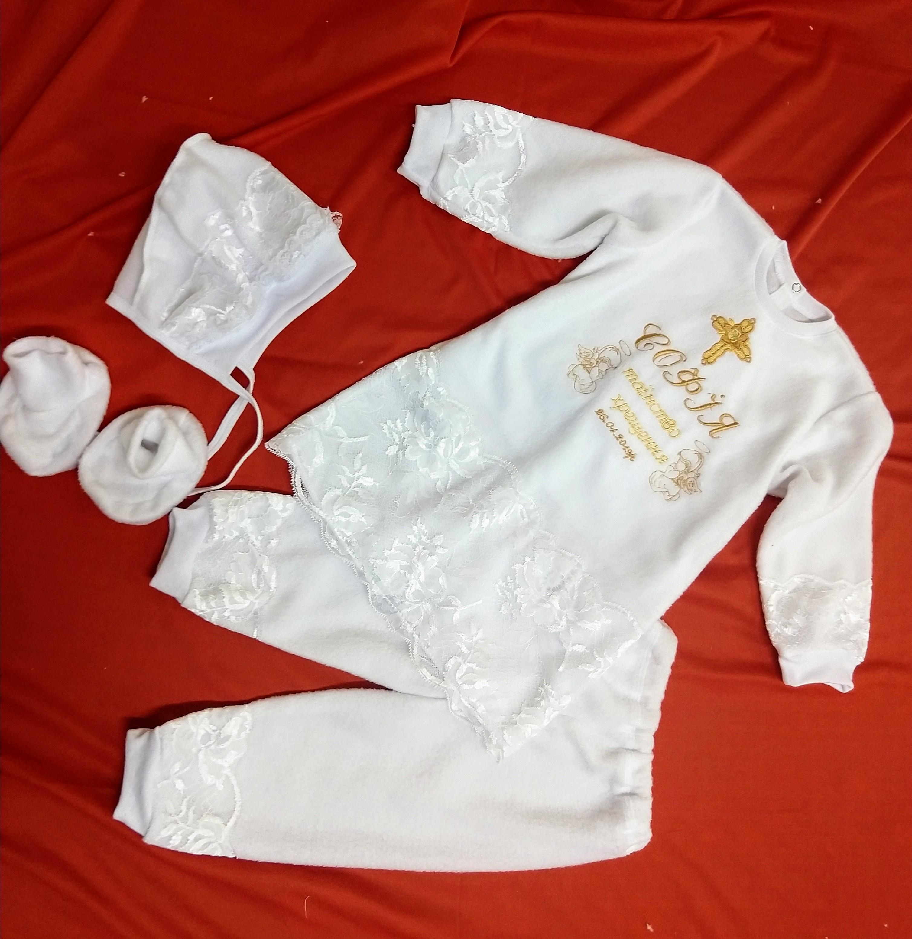 Хрестильний набір для дівчаток 5ba1fbaab4d5b