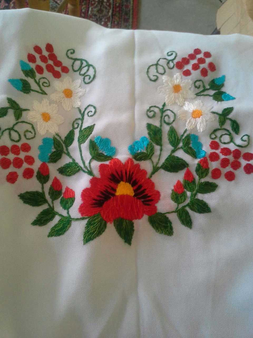 Жіночі вишиванки ручної роботи від