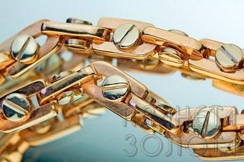 необычные плетения золотых мужских цепочек
