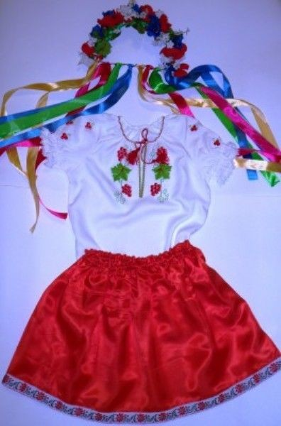 Как сделать белорусский костюм своими руками