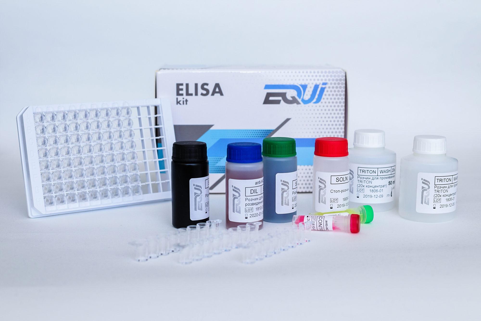 EQUI anti-HCV, 192 анализа