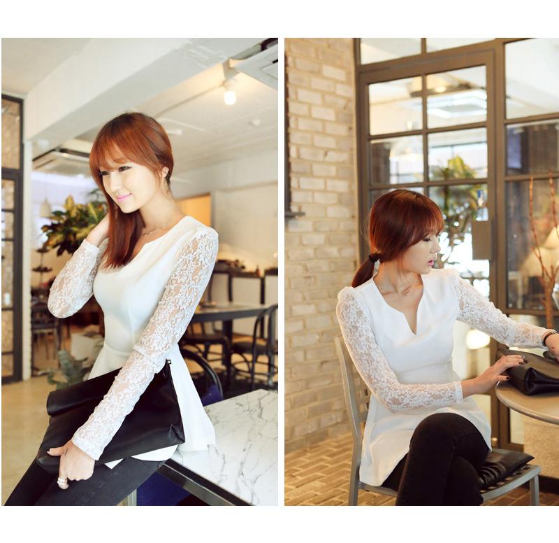 Белые блузки с кружевами доставка