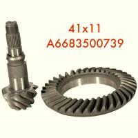 The main gear pair 41/11 Mercedes Sprinter, REX, Vario 512 - A6683500739 -  Products - Buy a pair of main gearbox, differential Repair Mercedes