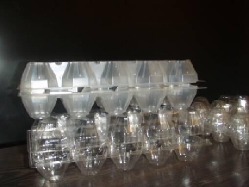 Пластикові лотки для яєць