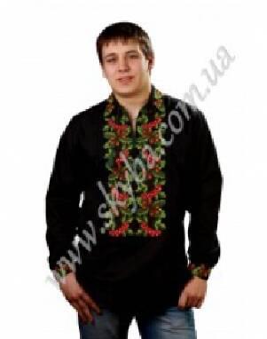 Продається чоловіча сорочка з вишивкою