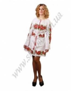 У продажу є жіночі сукні - вишиванки