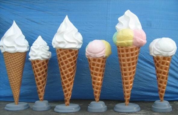 В продажу макет морозиво ріжок рекламний великий