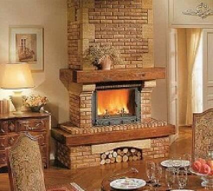 Камины на дровах - выгодная цена и отличное качество