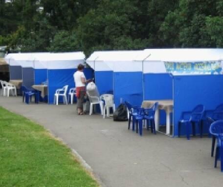 Палатки для торгівлі на вулиці. Мегазнижки для оптовиків!