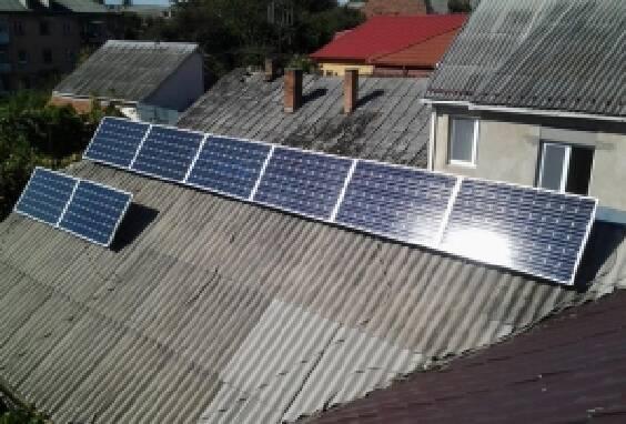 Установка сонячних колекторів