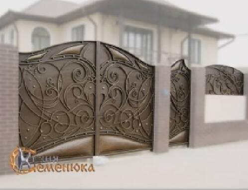 Проедлагаем купить кованый забор в Одессе