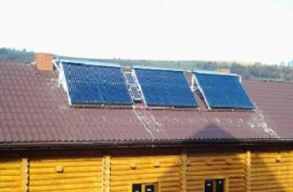 Сонячні колектори для будинку