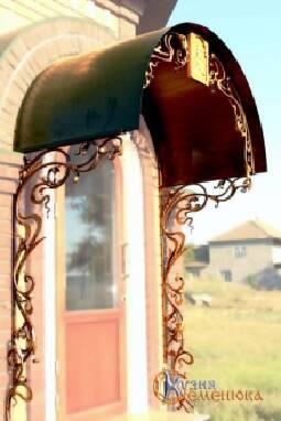 Козырьки кованые в Одесском регионе. Выгода здесь!