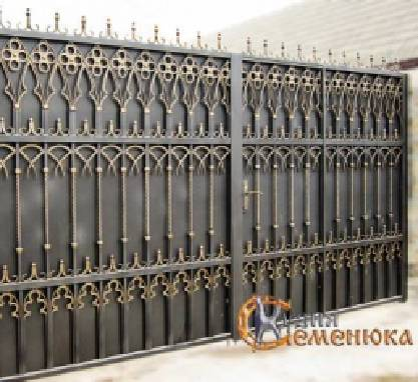 Предлагаем кованые заборы (Одесса)