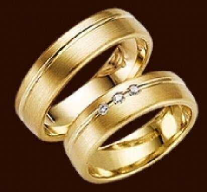 Пропонуємо золоті весільні кільця за привабливою ціною