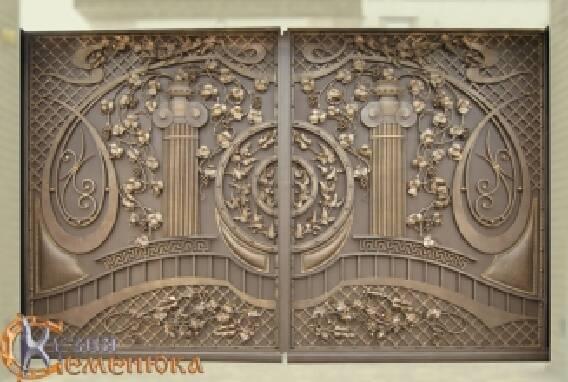 Кованые ворота (Одесса)