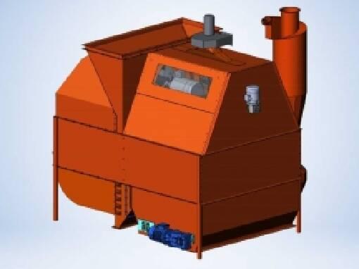 GAF-100 grain cleaning machine for sale - process optimization guaranteed