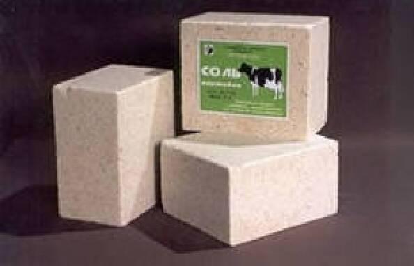 Подарунок для тваринництва - купити сіль лизунець