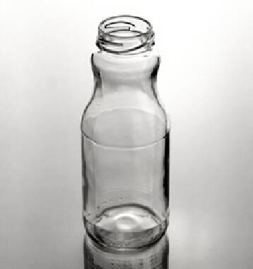 """Скляна пляшка під напої, соки- 25CL Vitanova (250"""" ml)"""
