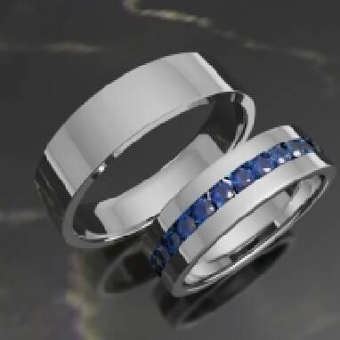 Купить обручальные кольца из белого золота, цена выгодная (Львов)