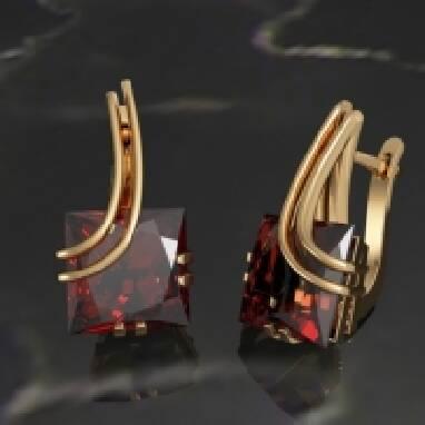 Купити золоті сережки високої якості (Київ)