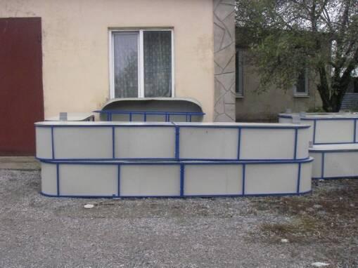 Якісні басейни для риб в Україні