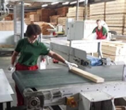 Работник на производстве (деревообрабатывающая промышленность)
