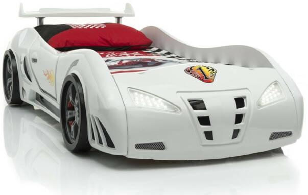 Детская кровать машина: купить недорогую мебель в комнату
