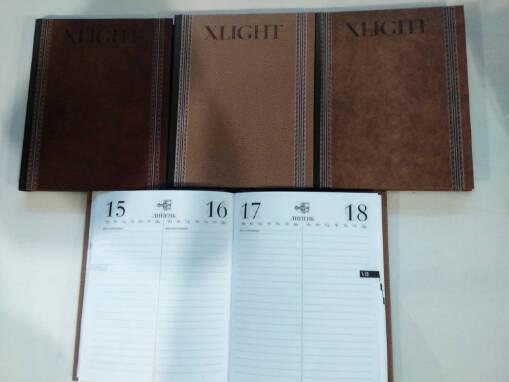 Деловой ежедневник Xlight в продаже оптом — выгодные цены!